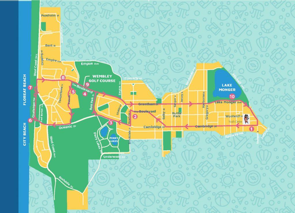 Cambridge Free Summer Shuttle Bus Service Map