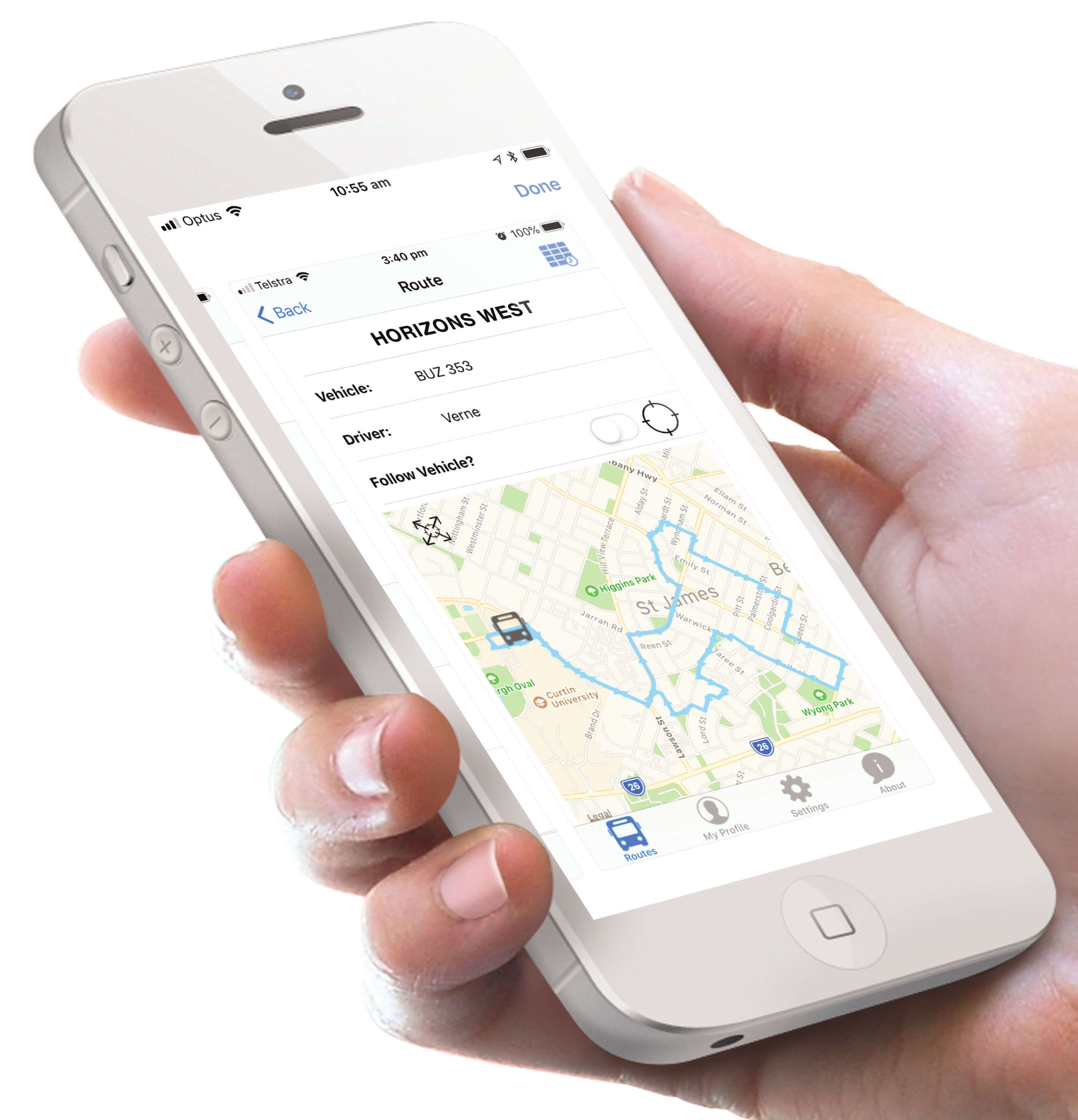 Horizons West CABS App