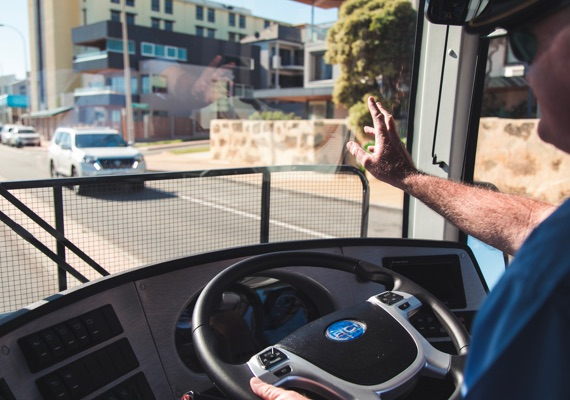 Bus Driver Job Perth