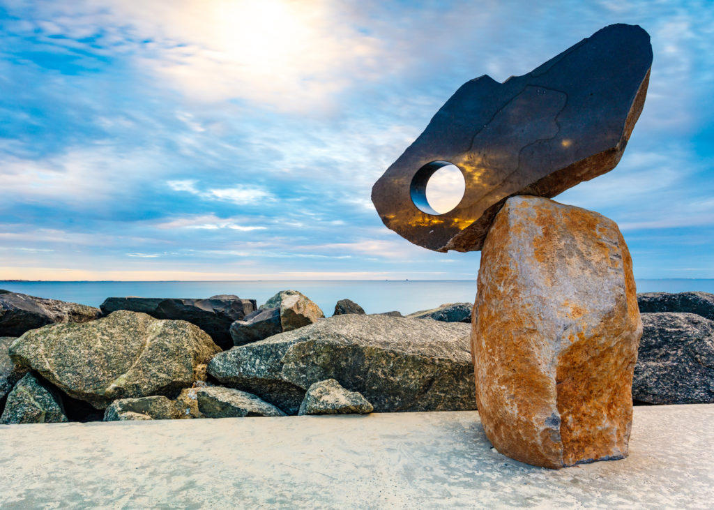 last years winning photograph for sculptures by the sea