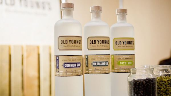 Old Young's swan valley gin range