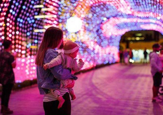 Perth Christmas Light Show